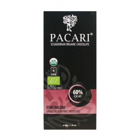 Pacari Esmeraldas 60% Dark Chocolate