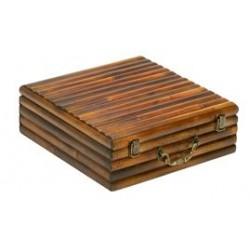 Cassetta in bambù per 3 bottiglie