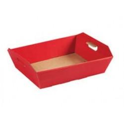 Cesto in cartone medio - Rosso