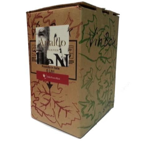 """Bag in Box """"Arialdo"""" Sangiovese 5 litri BIOLOGICO - Dalle Nostre Mani"""