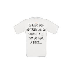 T-shirt Sobrietà