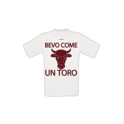 T-shirt Bevo Come Un Toro