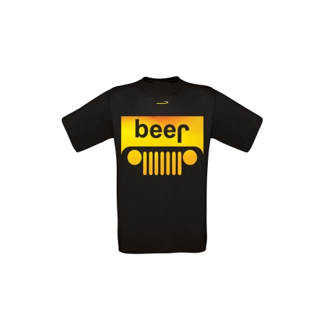 T-shirt Beer-Jeep