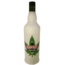 Rushkinoff Vodka Cannabis - Antonio Nadal Destilleries