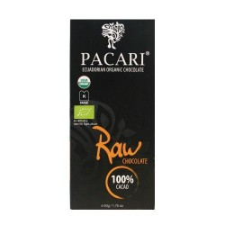 Pacari Organic Raw Chocolate 100% Cacao