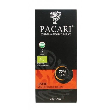 Pacari Los Rios 72% Dark Chocolate