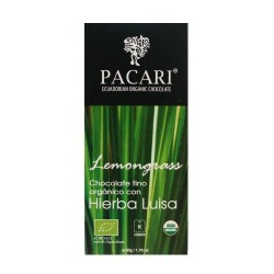 Pacari Lemongrass PREMIUM Chocolate Bar