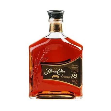 Ron Centenario Gold 18 Years Slow Aged - Flor De Cana