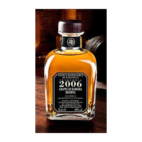Grappa di Barbera Riserva 2006 - Antica Distilleria di Altavilla