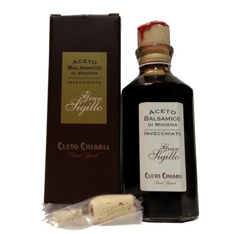 """Aceto Balsamico di Modena Invecchiato """"Gran Sigillo"""" - Cleto Chiarli"""