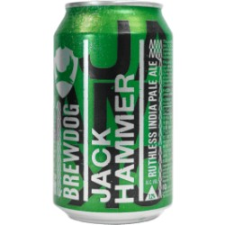 Jack Hammer Double IPA lattina - Brewdog 33cl