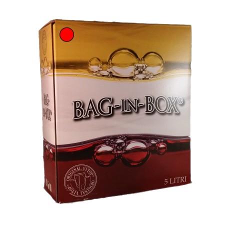 Bag in Box Rosso Barbera 5 Litri - Carnevale GIorgio