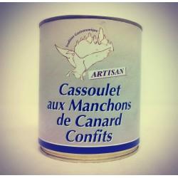 Cassoulet au Confit de Canard - Conserverie du Manoire