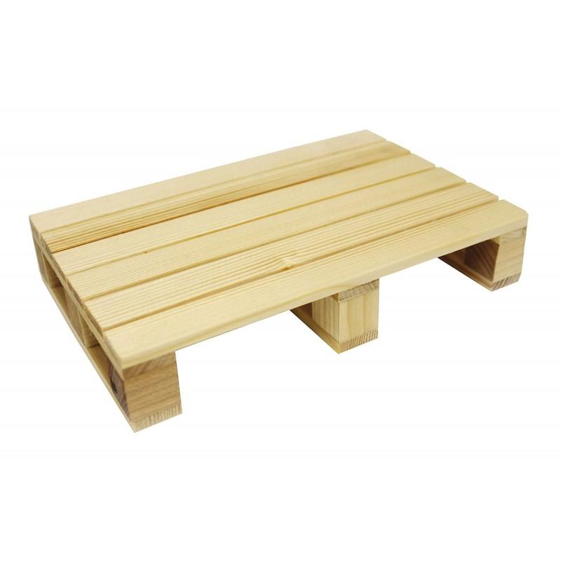 Piatto tagliere pallet in legno cm 40 15 2x3 5 accessori e for Bicchieri in legno