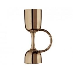 Jigger Coley Urban Bar In Acciaio Gold Rose Cl 2,5 e 5