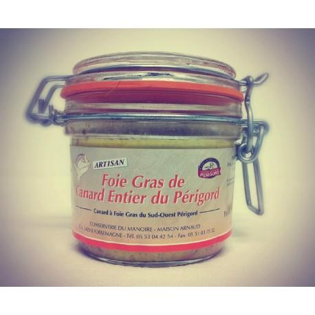 Foie Gras Entier di Anatra del Perigord 320gr - Conserverie du Manoire