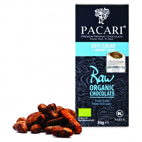 Pacari Organic Raw Chocolate 85%