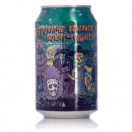 Restorative Beverage for Invalids and Convelescents SAVAGE DOUBLE IPA - Brewdog