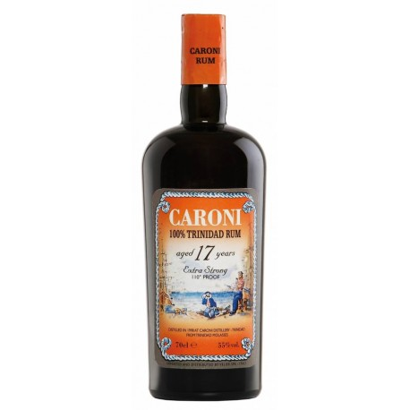 Caroni 17 Years 1998 Extra Strong 110° Proof