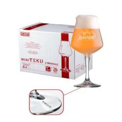 Confezione da 6 Bicchieri Mini Teku 3.0 a marchio Baladin