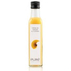 Crema de Vinagre al Platáno (Crema di to di banana) - Platé