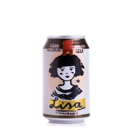 Lisa Light Italian Session Ale - Birra del Borgo