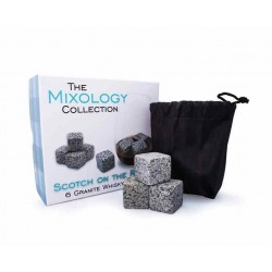 Cubetti pietra Granite per Whisky - The Mixology Collection