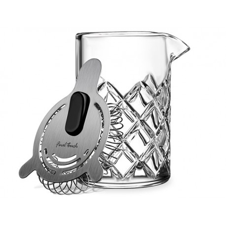 Set mixing glass stile Yarai con colino cl 40 - Final Touch