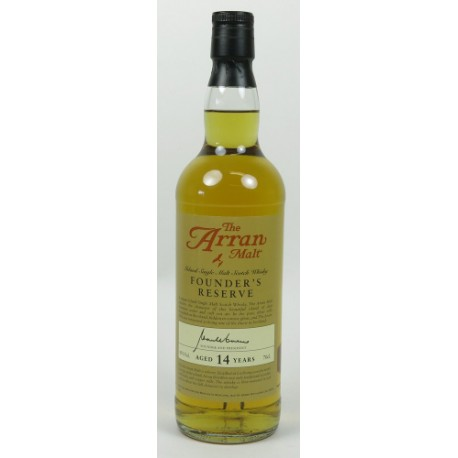 The Arran Founder's Reserve 14 Years Old