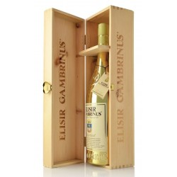 Elisir Gambrinus Gold Limited Edition 2000 Magnum 1,5L in cassa legno
