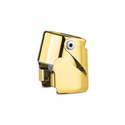 Tappo Universale Vino Spumante Champagne con Aletta mod. 20/30D acciaio dorato 24 carati - WAF