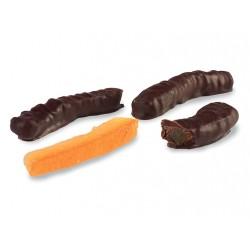 Filetti di Arancia ricoperto di puro cioccolato fondente - Maglio