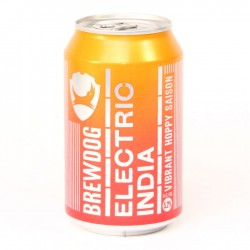 Electric India - Brewdog lattina 33cl