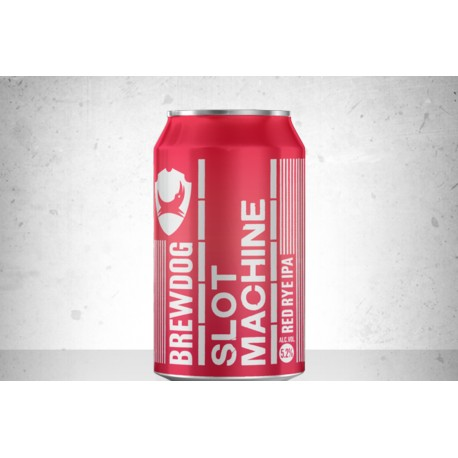 Slot Machine Rye IPA - Brewdog lattina 33cl