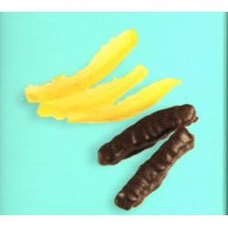 Limone Cedrato ricoperto di puro cioccolato fondente - Maglio