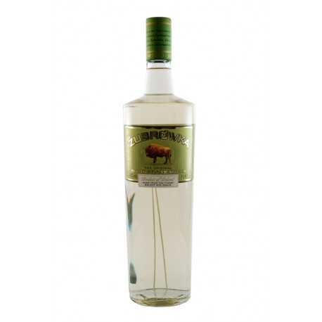 Zubrowka - la vodka del bisonte 1L