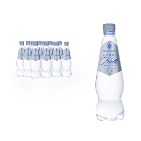 Acqua Filette Naturalmente Naturale in PET 12 bottiglie silhouette da 50 cl
