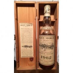 Glen Moray Glenlivet Vintage 1962 con scatola in legno 70cl