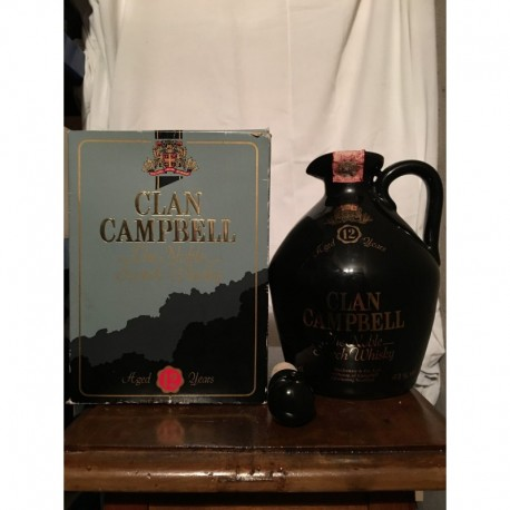 Clan Campbell 12 yo De Luxe Blended decanter in ceramica 75cl con astuccio