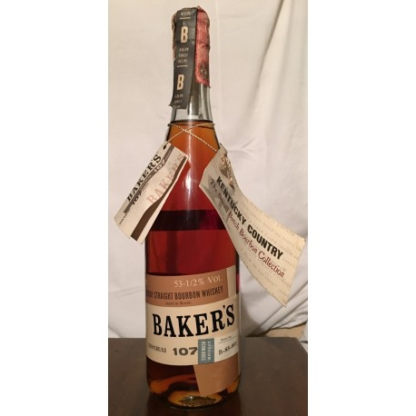 Baker's Small Batch 7yo old bottle 70cl
