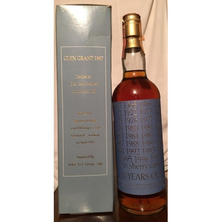 Glen Grant 1967 30yo Velier Third Edition 70cl