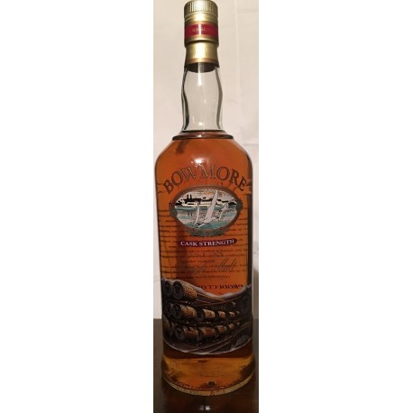 Bowmore Cask Strenght Screen Printed Bottle 1L