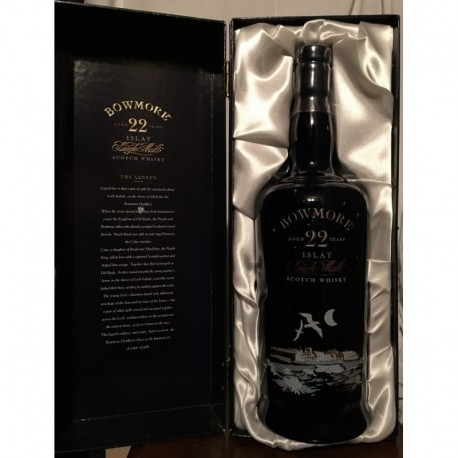 Bowmore 22yo Islay Legend Decanter Cofanetto old bottle 70cl