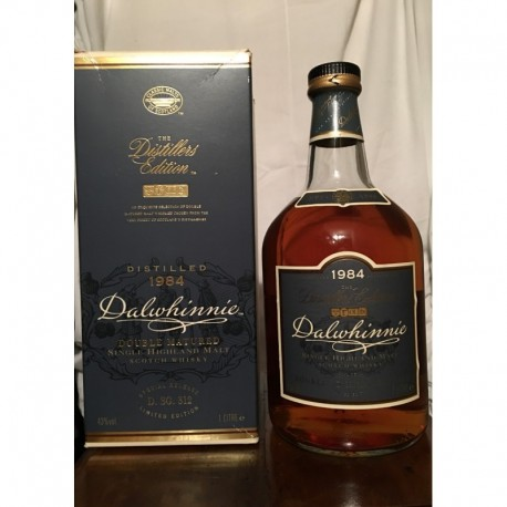 Dalwhinnie 1984 The Distiller's Edition Double Matured Limited Edition con astuccio 1L