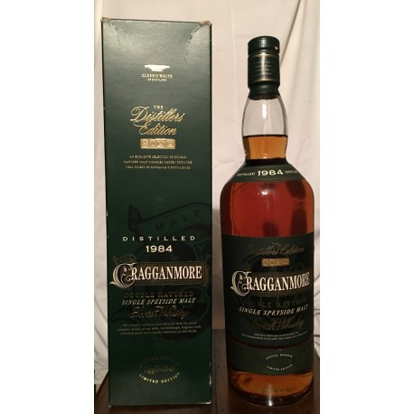 Cragganmore 1984 Double Matured The Distillers Edition con astuccio 1L