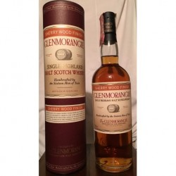 Glenmorangie Sherry Wood Finish con astuccio (tubo) 70cl