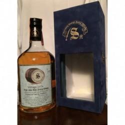 Caol Ila Distillery Signatory Vintage 1976 25yo in cofanetto di velluto blu 70cl