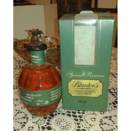 Blanton's Special Reserve old bottle 70cl