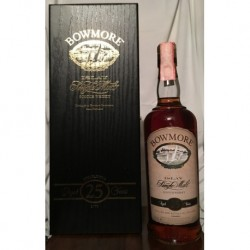 Bowmore 25yo con astuccio 70cl old bottle