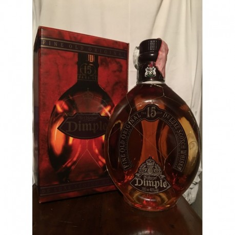 Dimple 15yo con astuccio 70cl old bottle